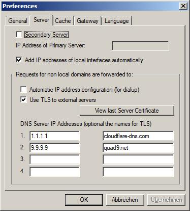 haneWIN DNS Documentation